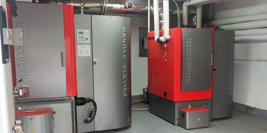 Ahorrar gastos comunidad con caldera biomasa