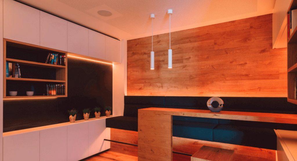 Diseñar una iluminación inteligente con domótica