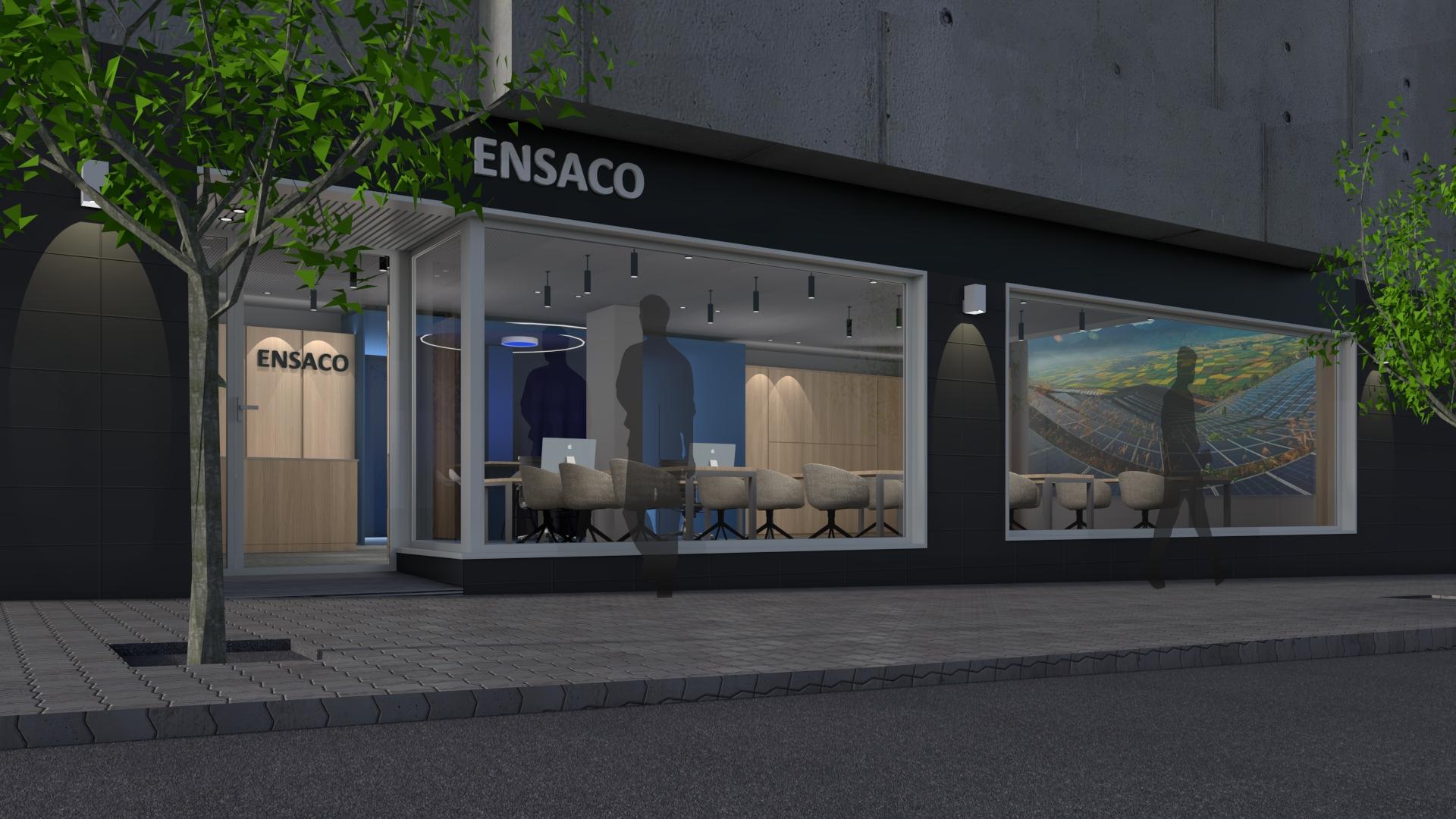 Fachada-Showroom Ensaco
